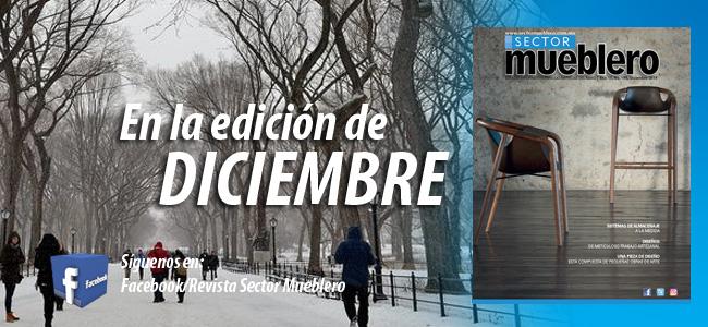 Edidicón diciembre 2019 de la revista sector mueblero