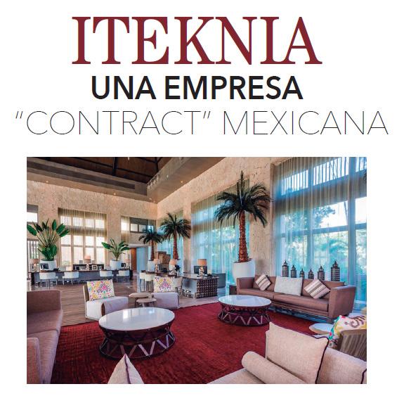 """ITEKNIA UNA EMPRESA """"CONTRACT"""" MEXICANA"""