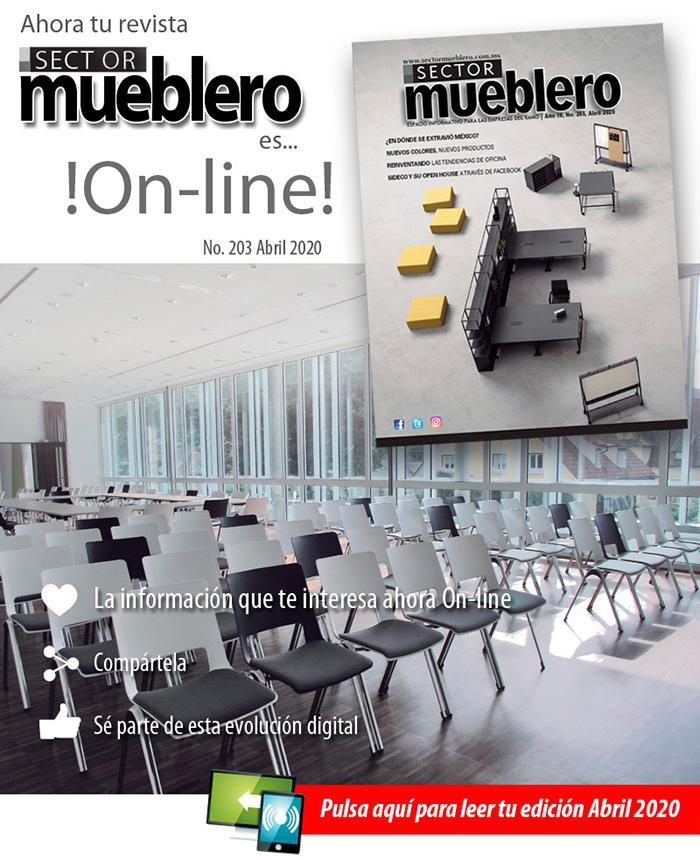 Revista Sector Mueblero On line, Abril 2020