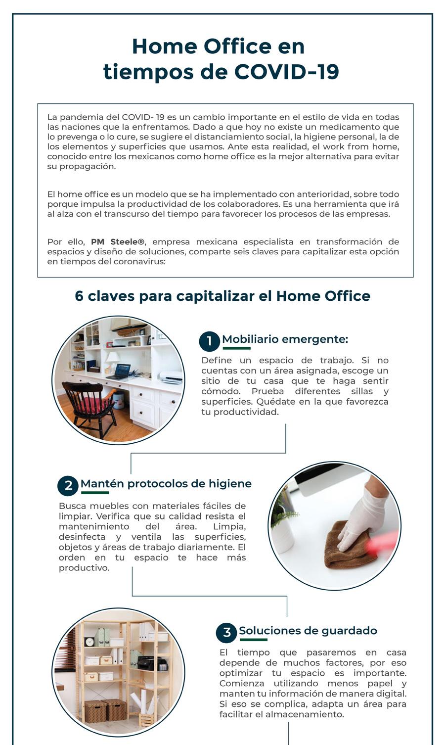 HOME OFFICE EN TIEMPOS DE COVID-19