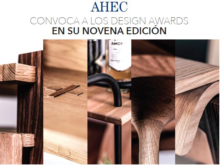 AHEC CONVOCA A LOS DESIGN AWARDS EN SU NOVENA EDICIÓN