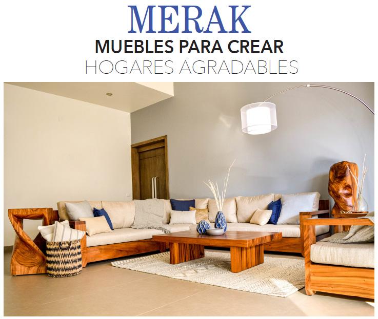 MERAK MUEBLES PARA CREAR HOGARES AGRADABLES