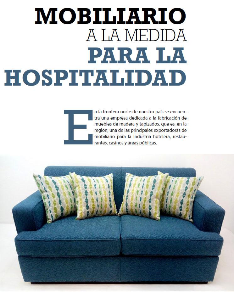 MOBILIARIO A LA MEDIDA PARA LA HOSPITALIDAD