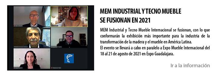 MEM INDUSTRIAL Y TECNO MUEBLESE FUSIONAN EN 2021