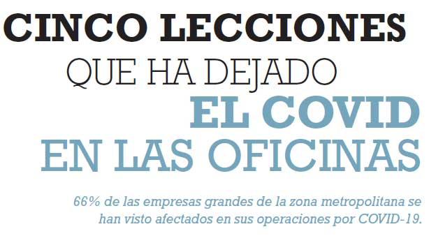 CINCO LECCIONES QUE HA DEJADO EL COVID EN LAS OFICINAS
