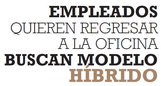 EMPLEADOS QUIEREN REGRESAR A LA OFICINA BUSCAN MODELO HÍBRIDO