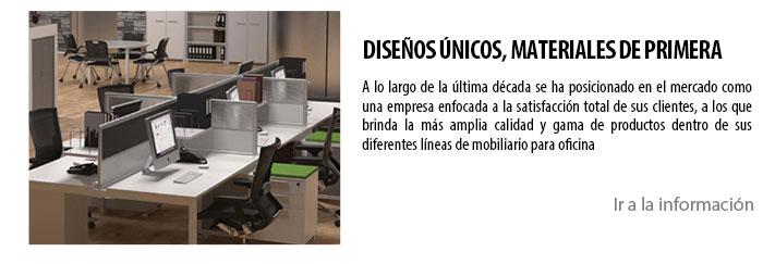 DISEÑOS ÚNICOS, MATERIALES DE PRIMERA