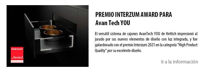 PREMIO INTERZUM AWARD PARA Avan Tech YOU