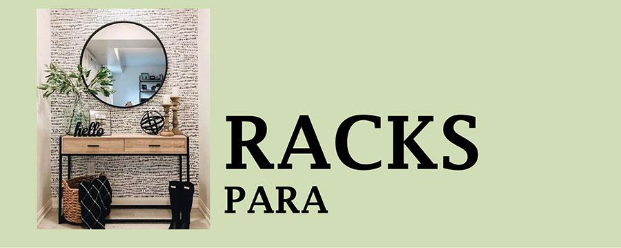 RACKS PARA TELEVISIÓN, LIBREROS, MESAS DE CENTRO