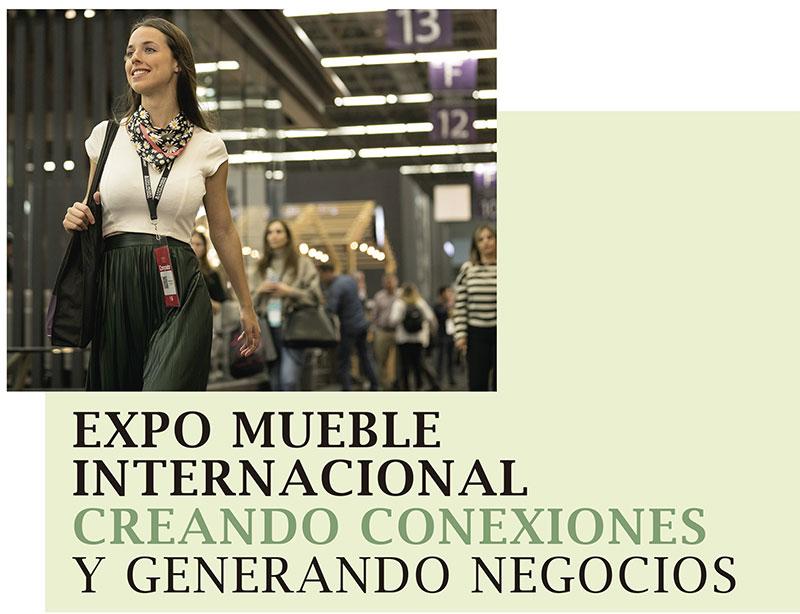 EXPO MUEBLE INTERNACIONAL CREANDO CONEXIONES Y GENERANDO NEGOCIOS