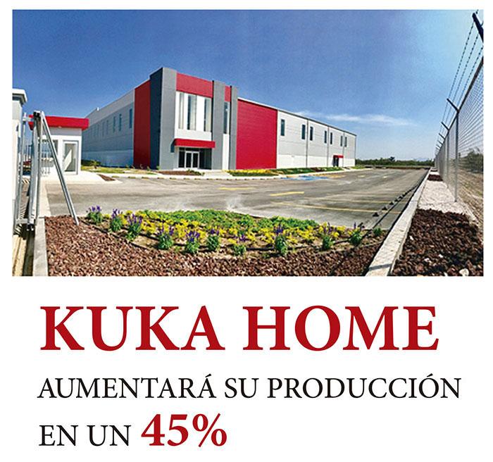 KUKA HOME AMENTARÁ SU PRODUCCIÓN EN UN 45%