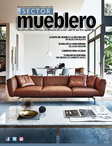 Revista Sector Mueblero edición Agosto 2021